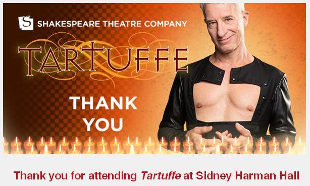 tartuffe thank you